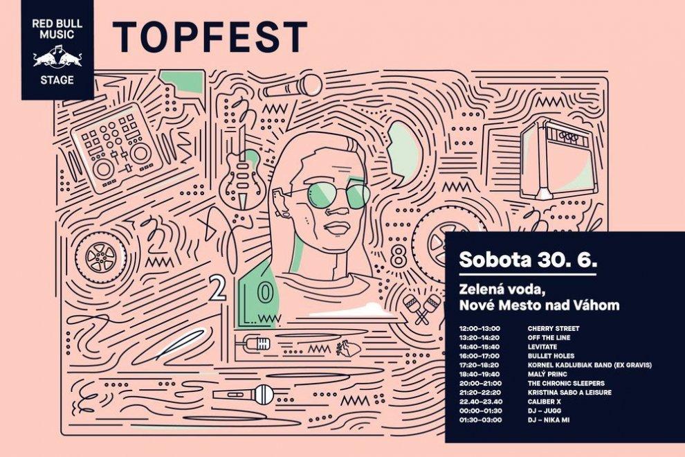 Topfest Lineup Sobota