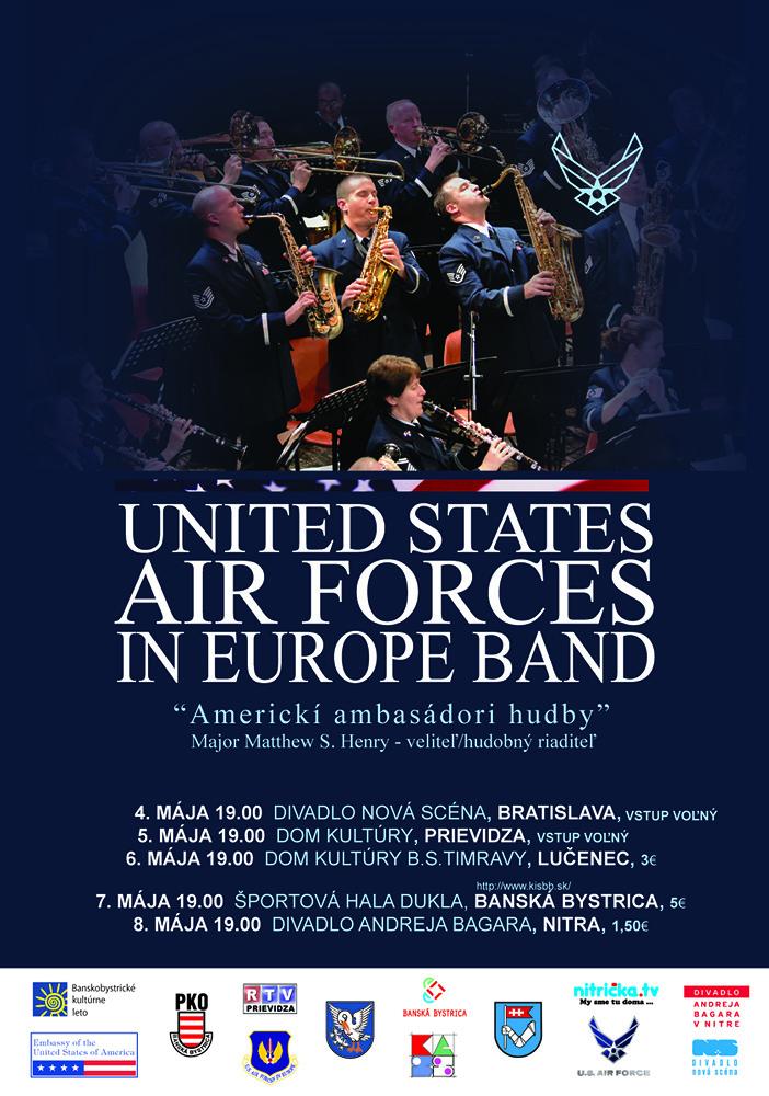 Americkí ambasádori hudby zahrajú klasiku, jazz ako aj hudbu z muzikálov BOMBING