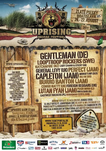 Uprising Reggae Festival 2011 BOMBING
