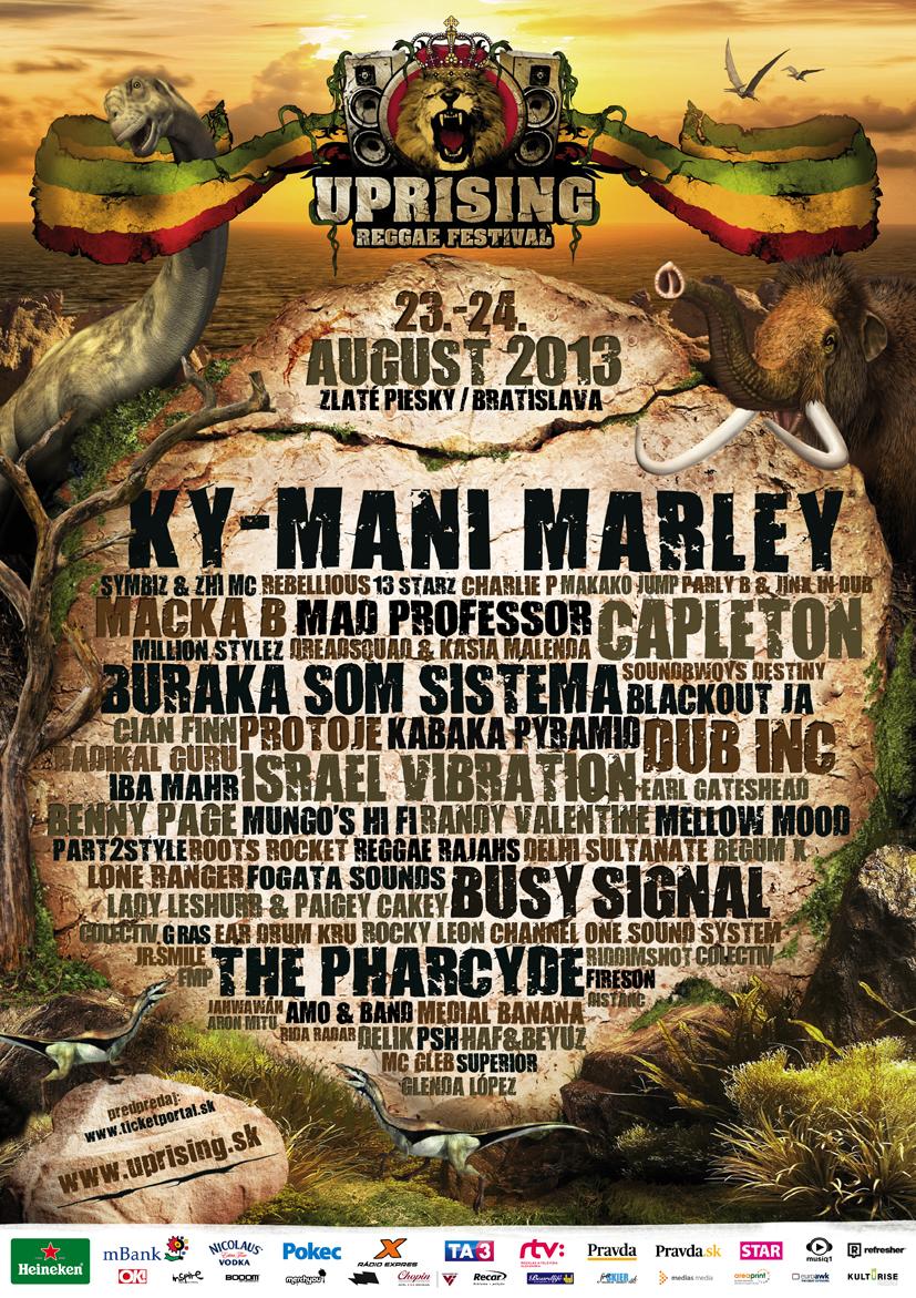 Svetové novinky v programe festivalu Uprising BOMBING