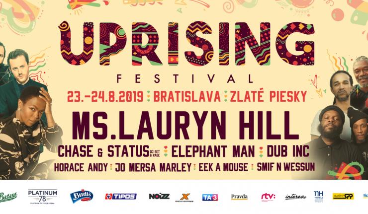 Uprising 2019 billboard