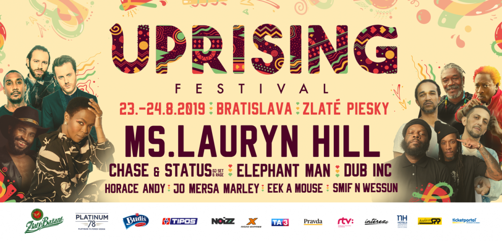 Uprising 2019 billboard