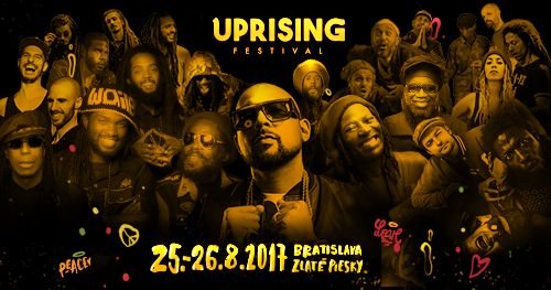 Na jubilejný 10. ročník festivalu UPRISING prichádza jamajská superstar  SEAN PAUL · SLOVENSKÉ HRADY 28985ddbe72