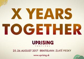 Festival Uprising predstavuje prvého headlinera a nové logo. BOMBING 6
