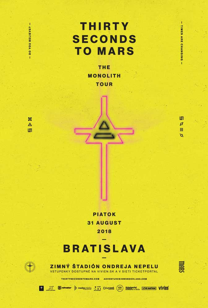 Thirty Seconds to Mars v BA