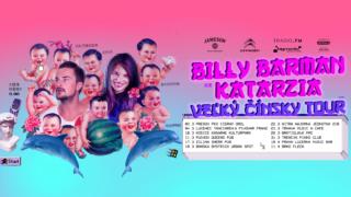 Katarzia a Billy Barman idú na Veľký Čínsky tour. Zahrajú v dvanástich mestách na slovensku aj v čechách BOMBING 3