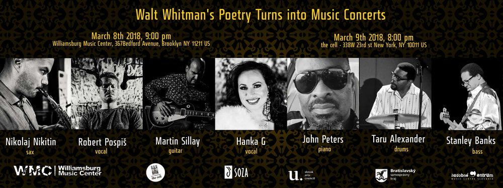 Walt Whitman's Poetry Turns into Music - Poster