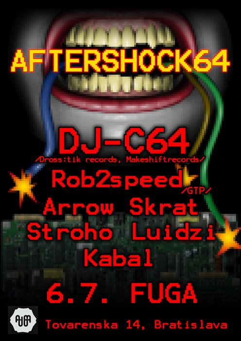 AFTERSHOCK 64 -C64 @ fUGA BOMBING