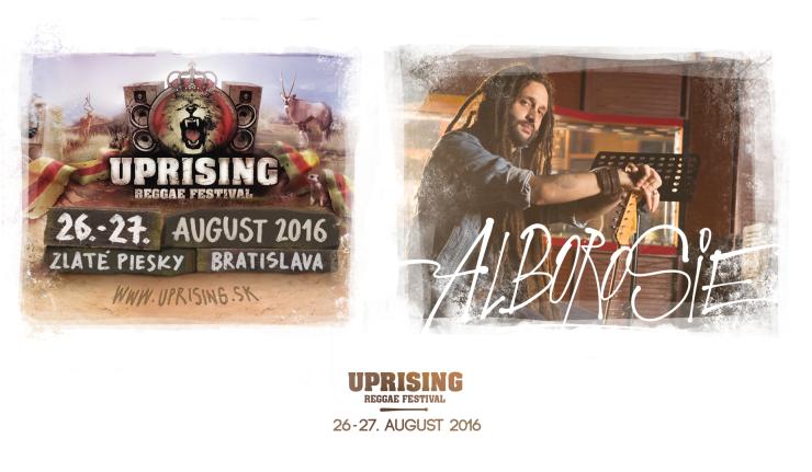 Hviezdou festivalu Uprising bude Alborosie, jeden z najpopulárnejších predstaviteľov súčasného reggae BOMBING 3