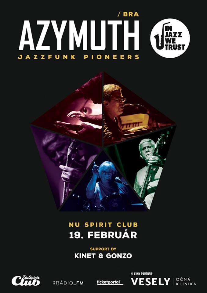Brazílska jazzfunková legenda Azymuth zavíta v rámci svojho turné do bratislavského Nu Spiritu BOMBING