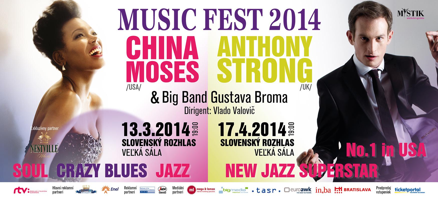 V Bratislave vystúpi spevák Anthony Strong, ktorého chvália BB King i Rod Stewart BOMBING