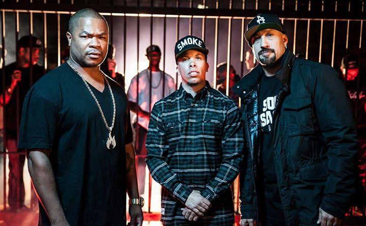XZIBIT, B-REAL (Cypress Hill), Demrick live in Prague / SaSaZu / 13.9.2014 BOMBING