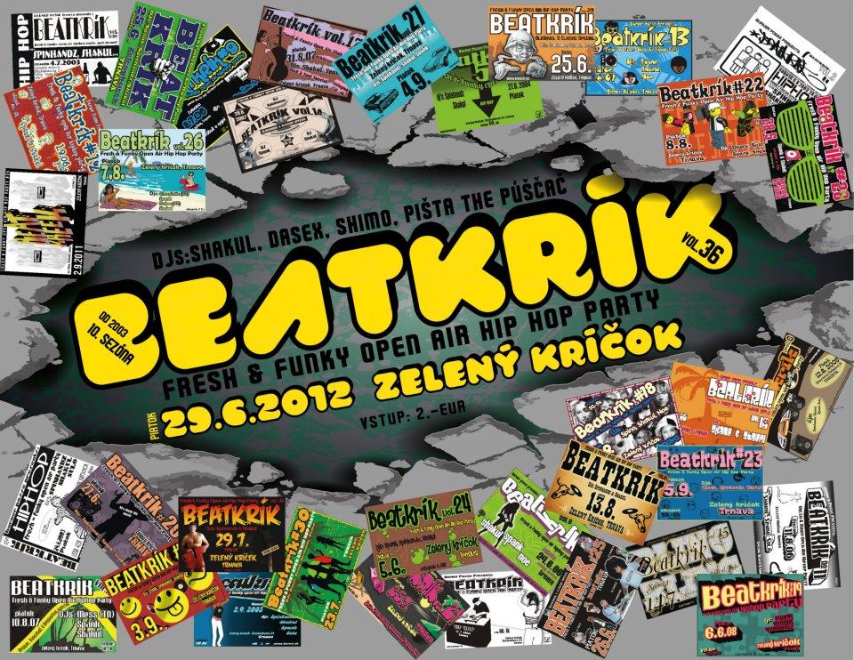 Začína 10. sezóna legendárnych BeatKríkov v Trnave BOMBING 2