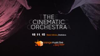 18. novembra sa v Starej tržnici predstaví britský The Cinematic Orchestra BOMBING