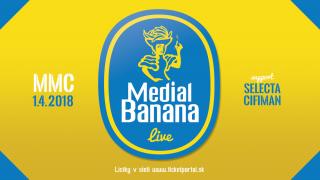 Medial Banana svoj veľkonočný koncert odohraju v MMCčku BOMBING