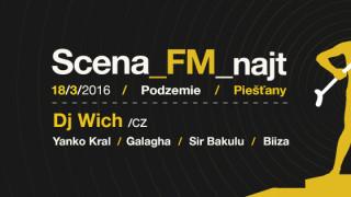 Scena_FM Najt putuje s Djom Wichom do Piešťan. BOMBING 2
