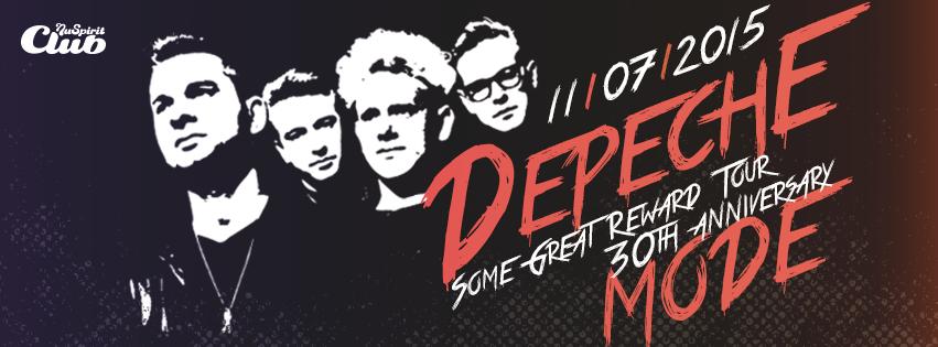 Depešáci! 30te výročie 'Some Great Reward Tour' oslávime spoločne už túto sobotu v Nu Spirit Clube BOMBING 1