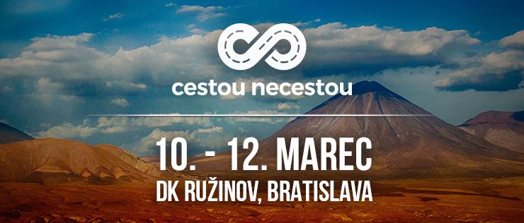 Festival Cestou necestou opäť v Bratislave! BOMBING