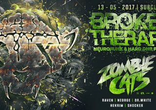 Broken Therapy Subclub Zombie Cats už dnes v Bratislave BOMBING