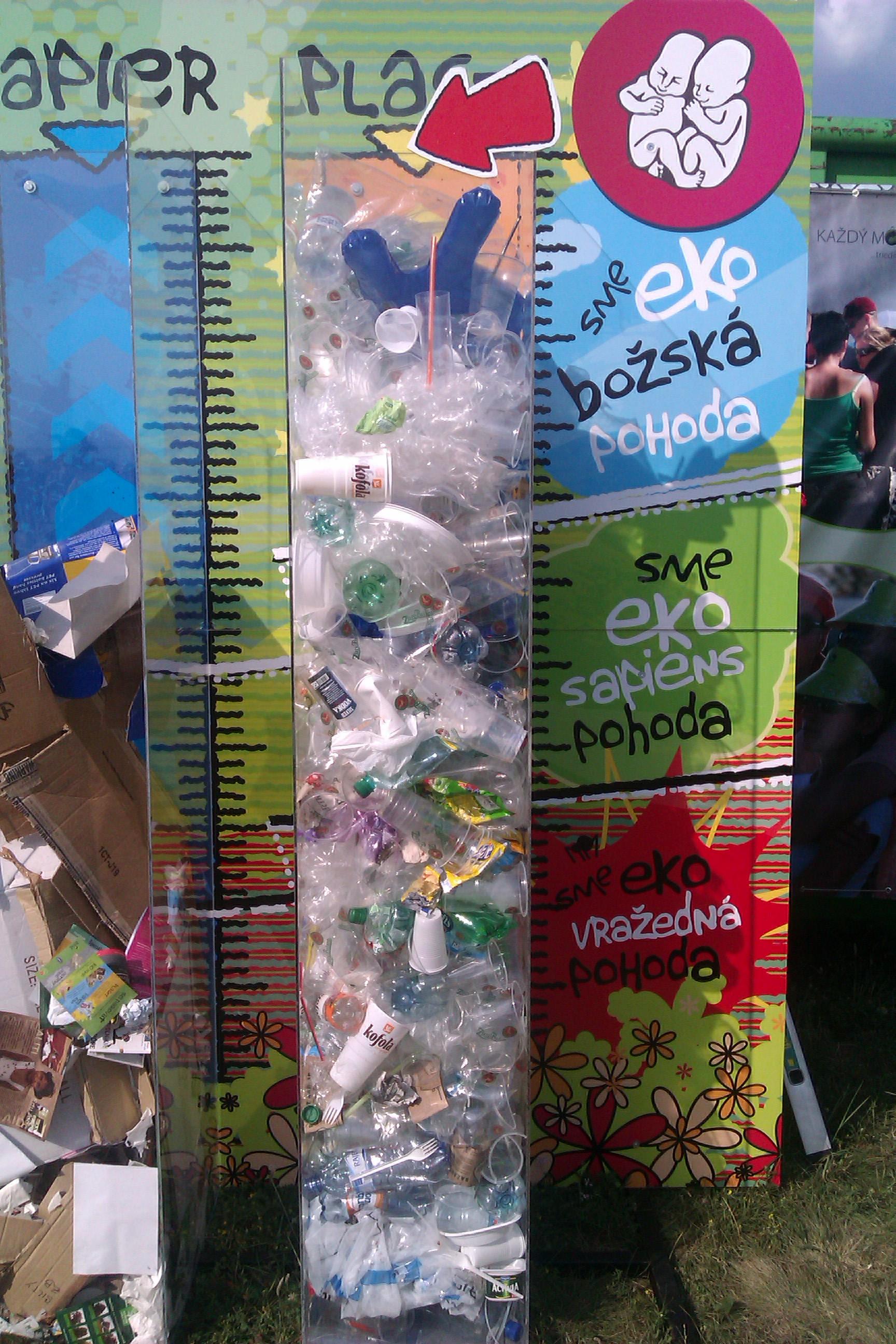 Ľudia videli na Pohode odpad! Atento rok ho vytriedili rekordne veľa! BOMBING