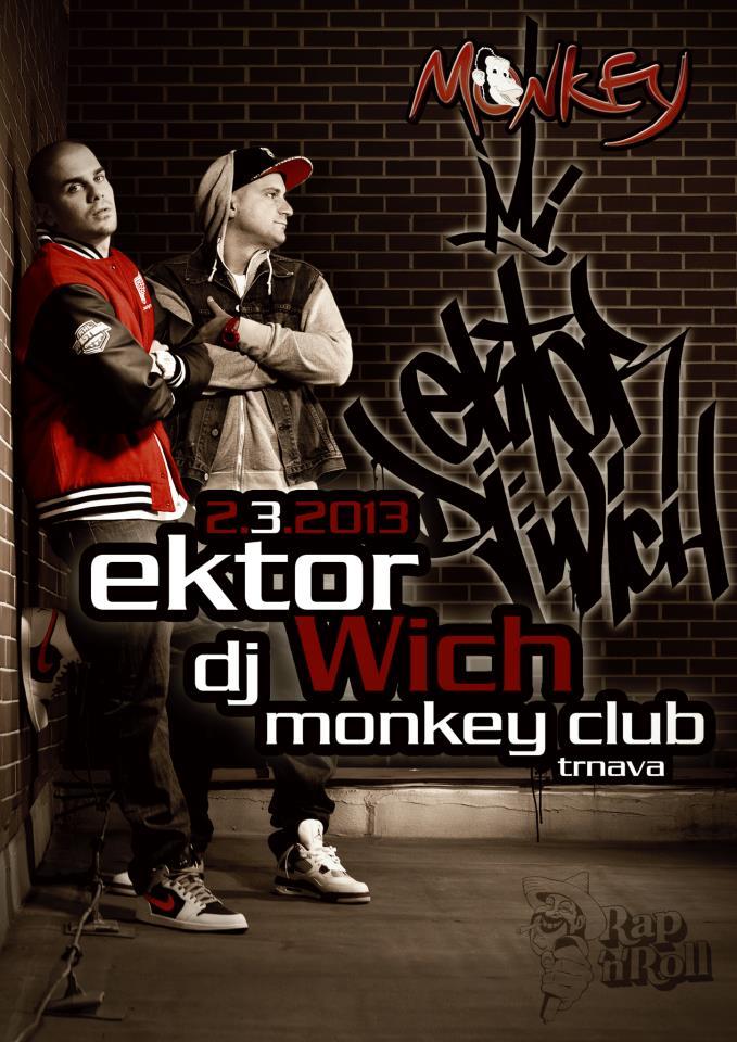 EKTOR a DJ WICH už túto sobotu v Trnave. BOMBING
