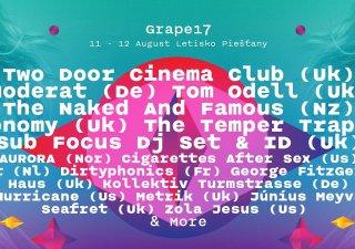 Festival Grape už o necelé tri týždne. Na čo sa môžete tešiť a načo netreba zabudnúť? BOMBING 3