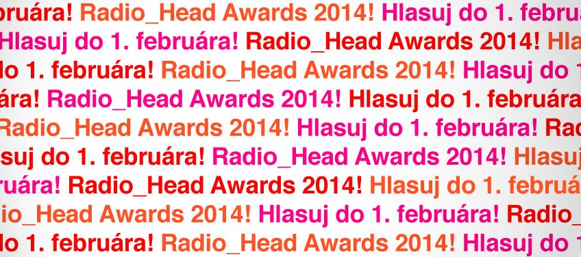 RÁDIO_FM spustilo hlasovanie 7. ročníka RADIO_HEAD AWARDS BOMBING