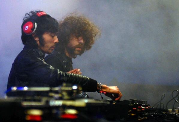 JUSTICE DJ SET NA BAŽANT POHODE 2013  BOMBING