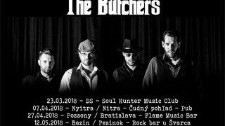 Kapela The Butchers prichádza s novým videoklipom a s novými koncertmi BOMBING