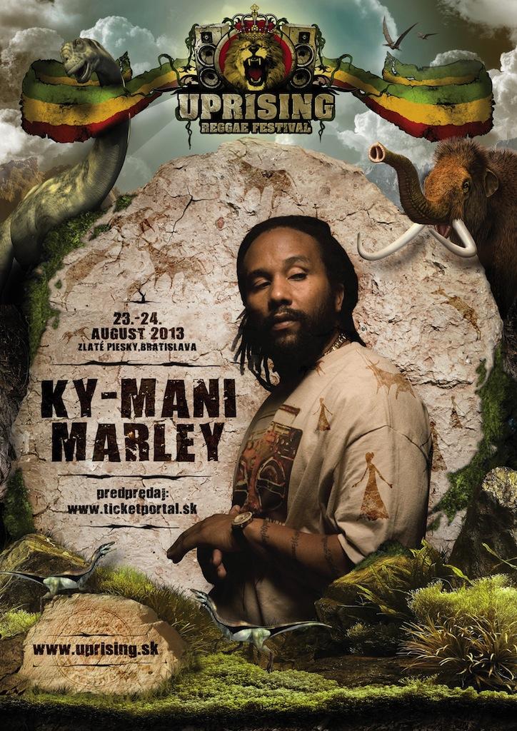 Syn kráľa reggae po prvýkrát na Slovensku  BOMBING