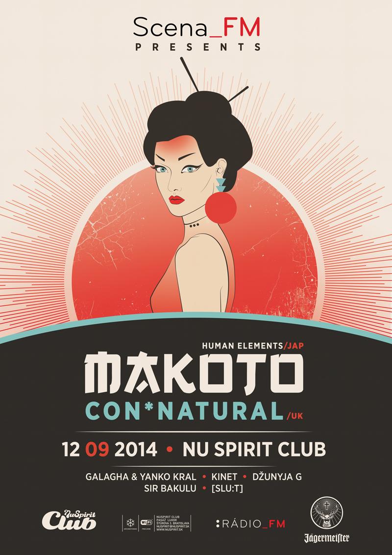 Makoto & MC Conrad odštartujú klubovú sezónu v Bratislave BOMBING