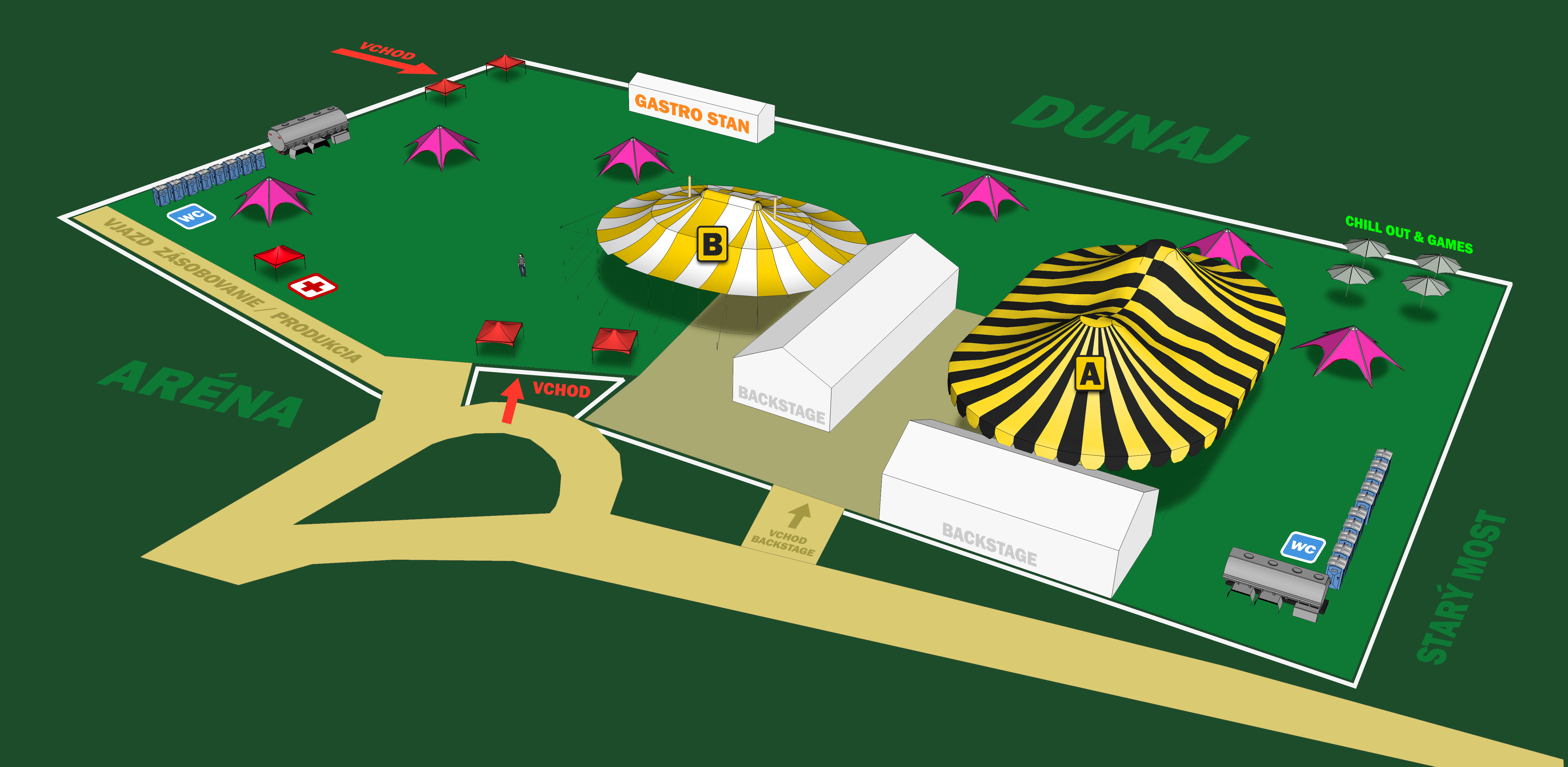 Dunaj ustúpil, festival BA City Beats sa bude definitívne konať na Tyršovom nábreží BOMBING 2