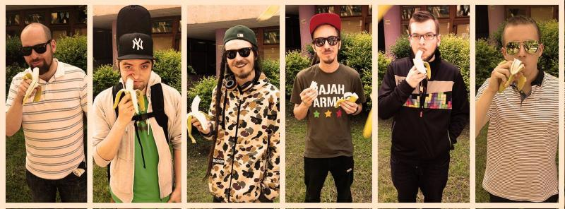 Kapela Medial Banana pripravuje nový klip BOMBING 1
