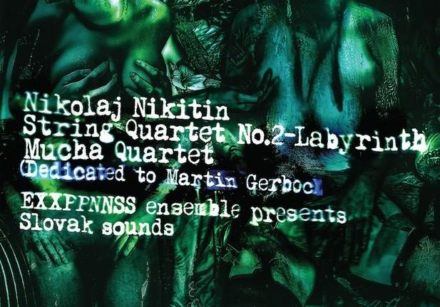 Nikolaj Nikitin, EXXPPNNSS ensemble a Martin Gerboc predstavujú album Slovak sounds BOMBING