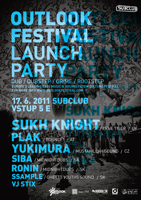 Outlook Festival Launch Party už tento piatok v Bratislave! BOMBING