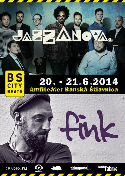 Fink a Jazzanova sa na Slovensku zdržia o čosi dlhšie, vystúpia aj v Banskej Štiavnici! BOMBING