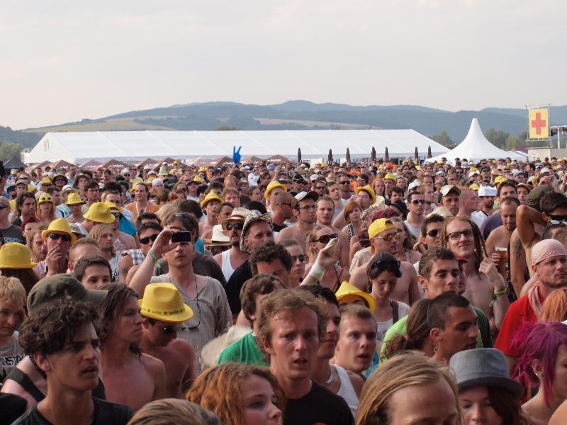 BAŽANT POHODA 2012 ZÍSKALA AKO PRVÝ FESTIVAL MAXIMÁLNY POČET 10 BODOV VHODNOTENÍ VIRTUALFESTIVALS.COM BOMBING