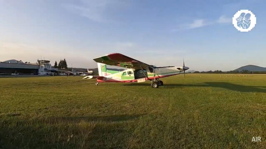 pohodaintheair lietadlo
