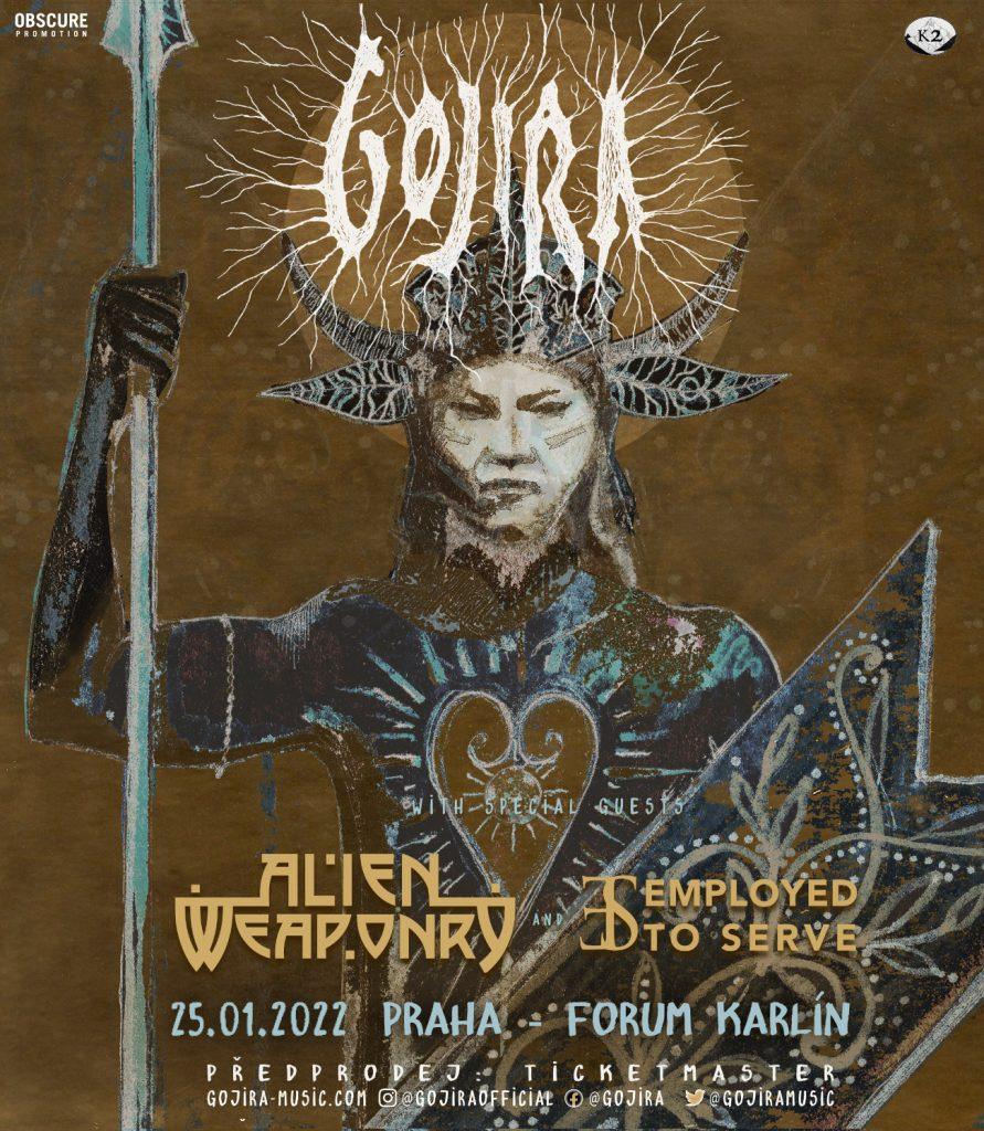 poster gojira 2022 actual