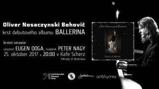 Po úspechu vo Veľkej Británii vydáva mladý slovenský talent Oliver Nosaczynski Bohovič debutový album Ballerina BOMBING
