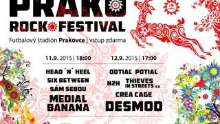 Prako Rock festival rozozvučí Hnileckú dolinu aaj tento rok prinesie kvalitné hudobné zážitky zadarmo. BOMBING