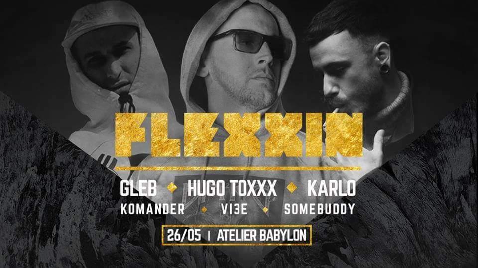 V bratislavskom Babylone sa už tento piatok o live show postarajú mená ako HUGO TOXXX, KARLO, GLEB a ďalší BOMBING 9