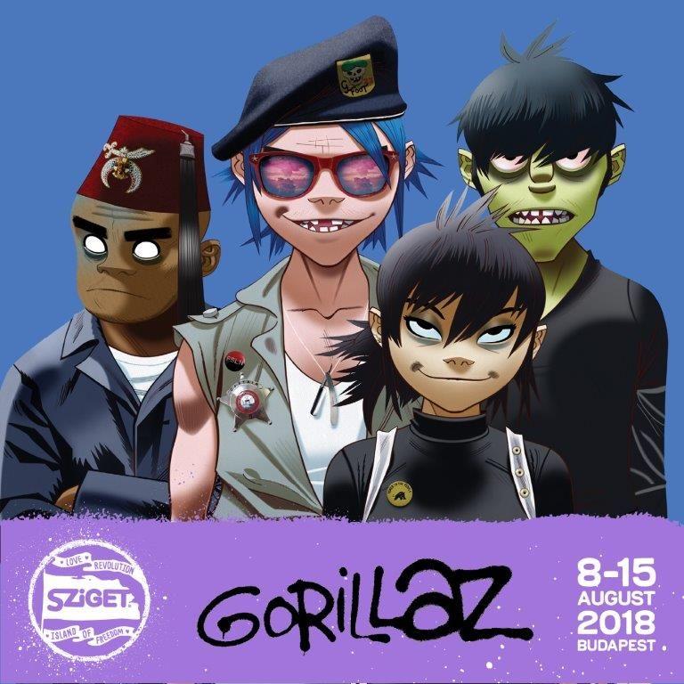 Dua Lipa a Gorillaz – Sziget oznámil ďalších headlinerov BOMBING 3