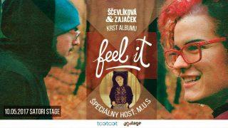Dvojica Ščevlíková & Zajaček vydáva očakávaný album 'Feel It' BOMBING 2