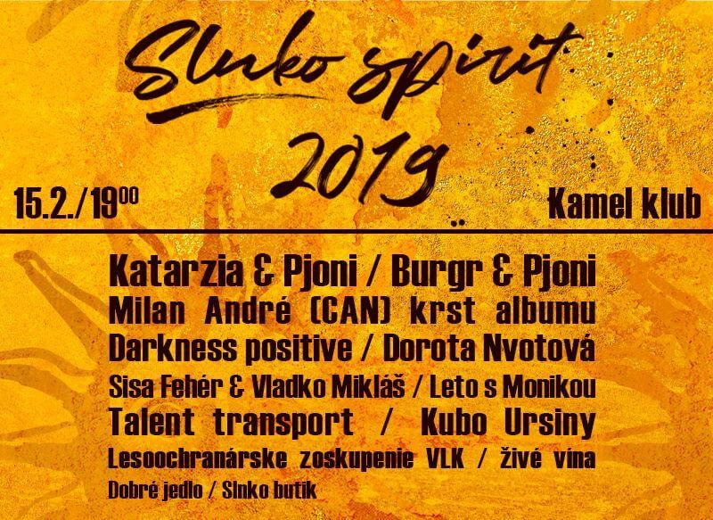 slnko spirit line up