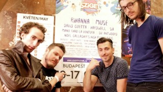 Ďalšia slovenská kapela na Szigete! Fúzy Múzy vyhrali česko-slovenský súboj BOMBING 1