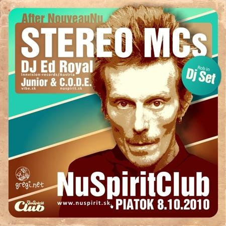 Stereo MCs v Nu Spirit Clube už tento piatok BOMBING