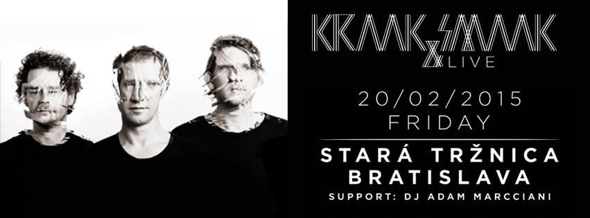 Súťaž o lístky na koncert Holandského zoskupenia  Kraak & Smaak BOMBING