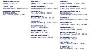 timetable esns