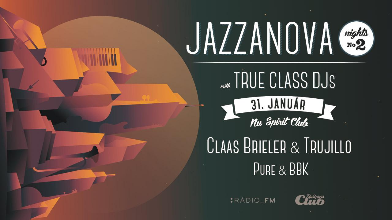 Séria Jazzanova Night pokračuje s True Class DJs aich špeciálnym 6-hod. setom BOMBING 2
